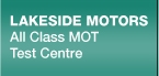 Lakeside MOT Centre